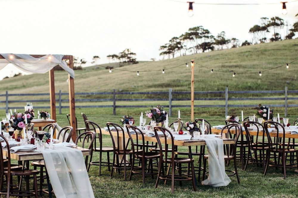 7 of the Best Wedding Venues in Byron Bay | Forget Me Not | Hampton Event Hire - wedding and event hire | www.hamptoneventhire.com | Photo by Ivy Road Photography