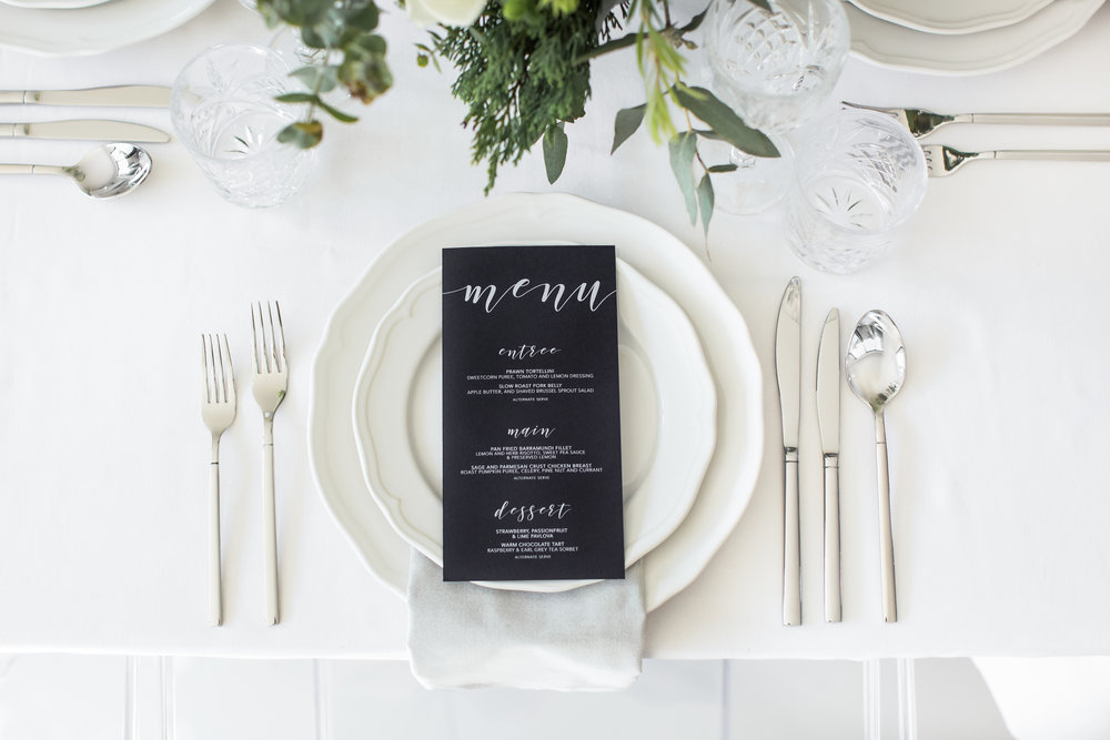 Stationery by  Labelle Creative  | Image by  Camilla Kirk Photography