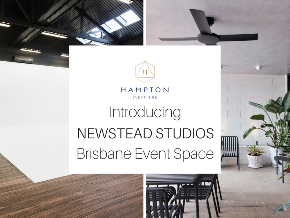 Newstead Studios - Brisbane Event Venue | Hampton Event Hire - Wedding and Event Hire | www.hamptoneventhire.com