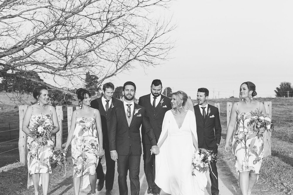 The Farm Byron Bay Wedding | Hampton Event Hire | Photo by Kate Holmes | Bridal party