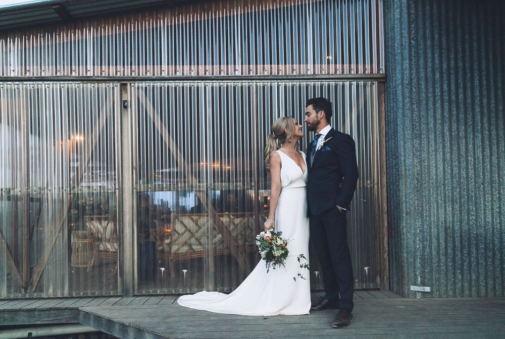 The Farm Byron Bay Wedding | Hampton Event Hire | Photo by Kate Holmes | Bride groom