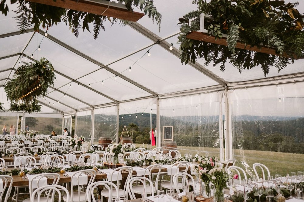 Natalie and Tim, Maleny Retreat Sunshine Coast Wedding | Hampton Event Hire