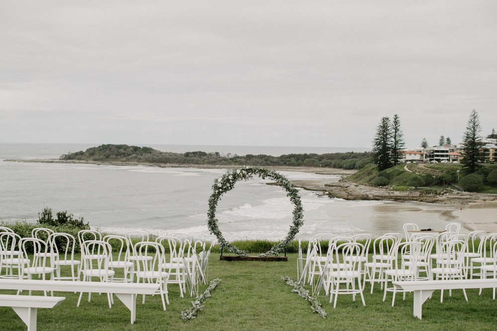Jess and Mitch, Yamba Shores Tavern wedding with Hampton Event Hire