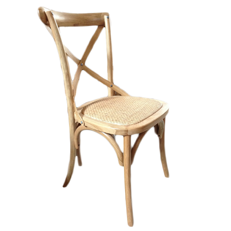 OAK CROSSBACK CHAIR
