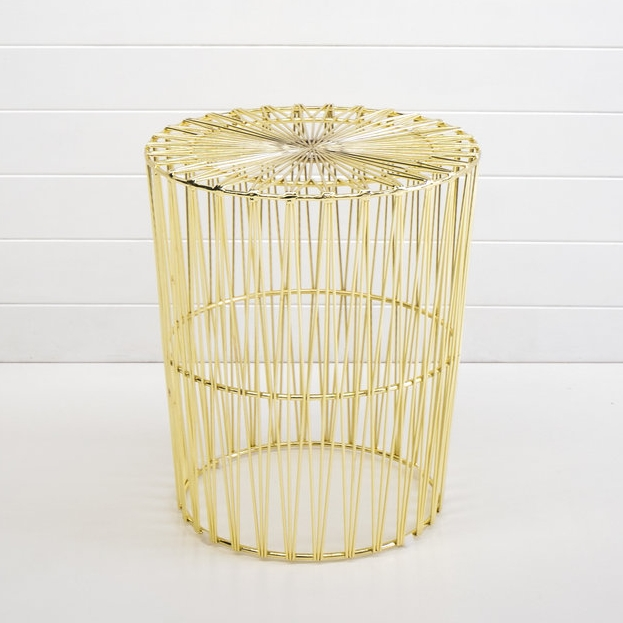 GOLD SOHO SIDE TABLE