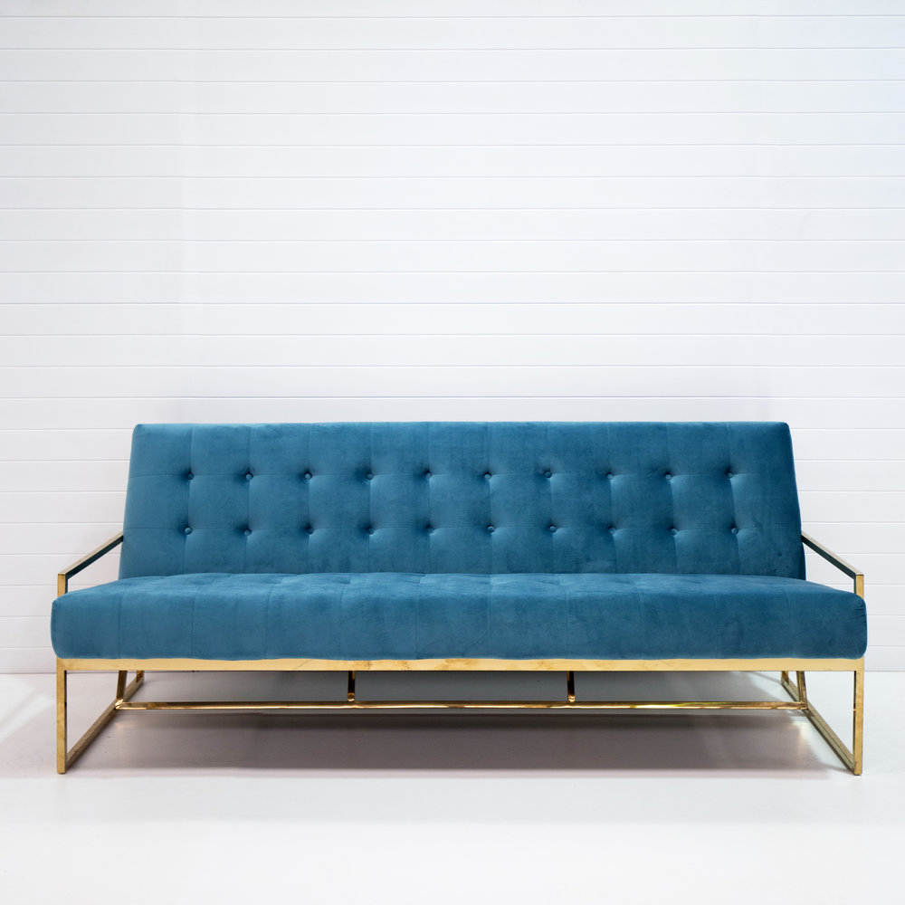 Three seater teal velvet .jpg