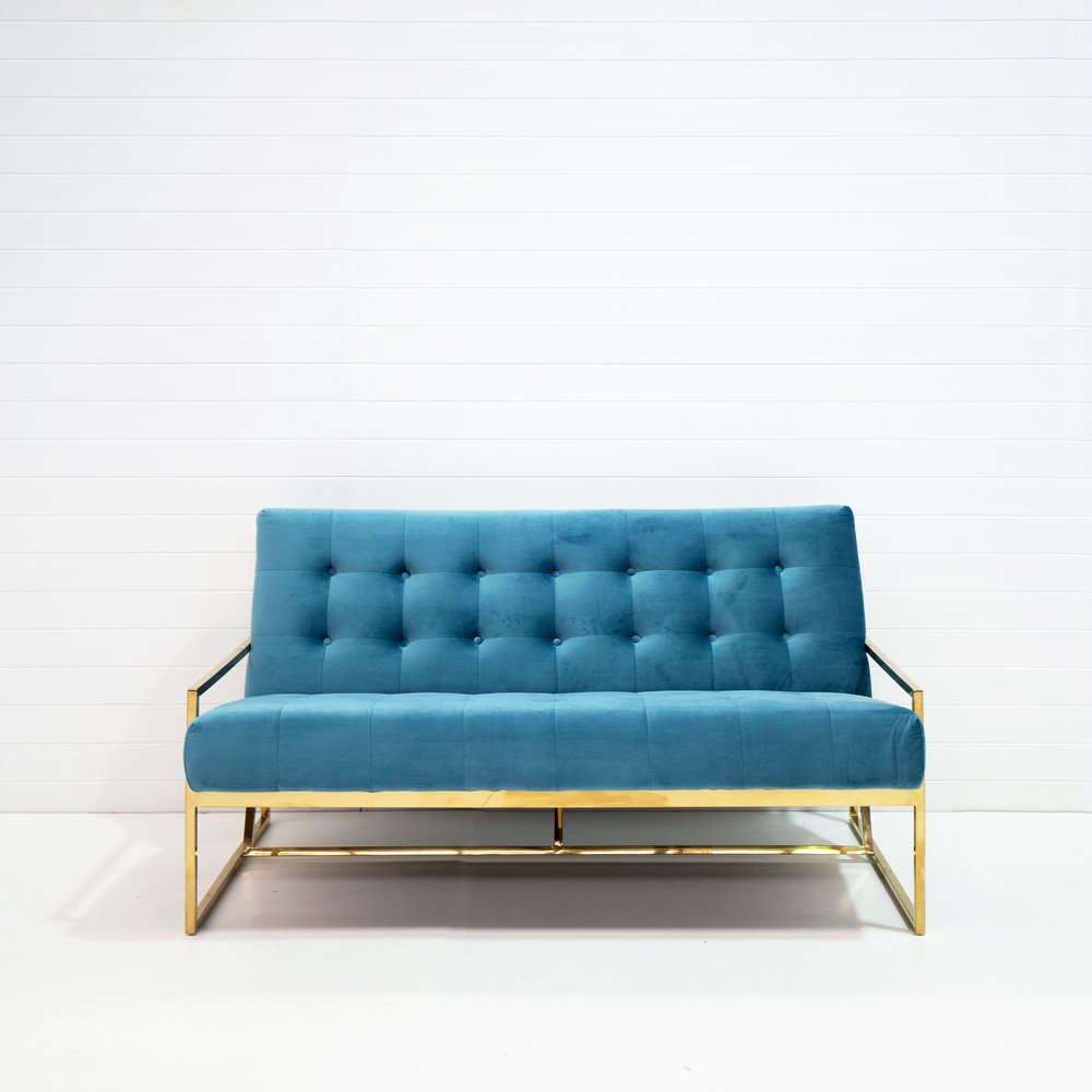 Two-seater teal velvet lounge.jpg
