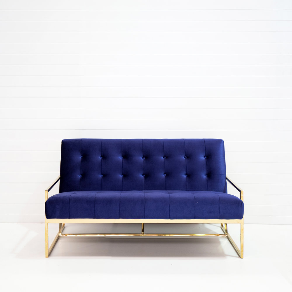 Two-seater navy velvet lounge.jpg