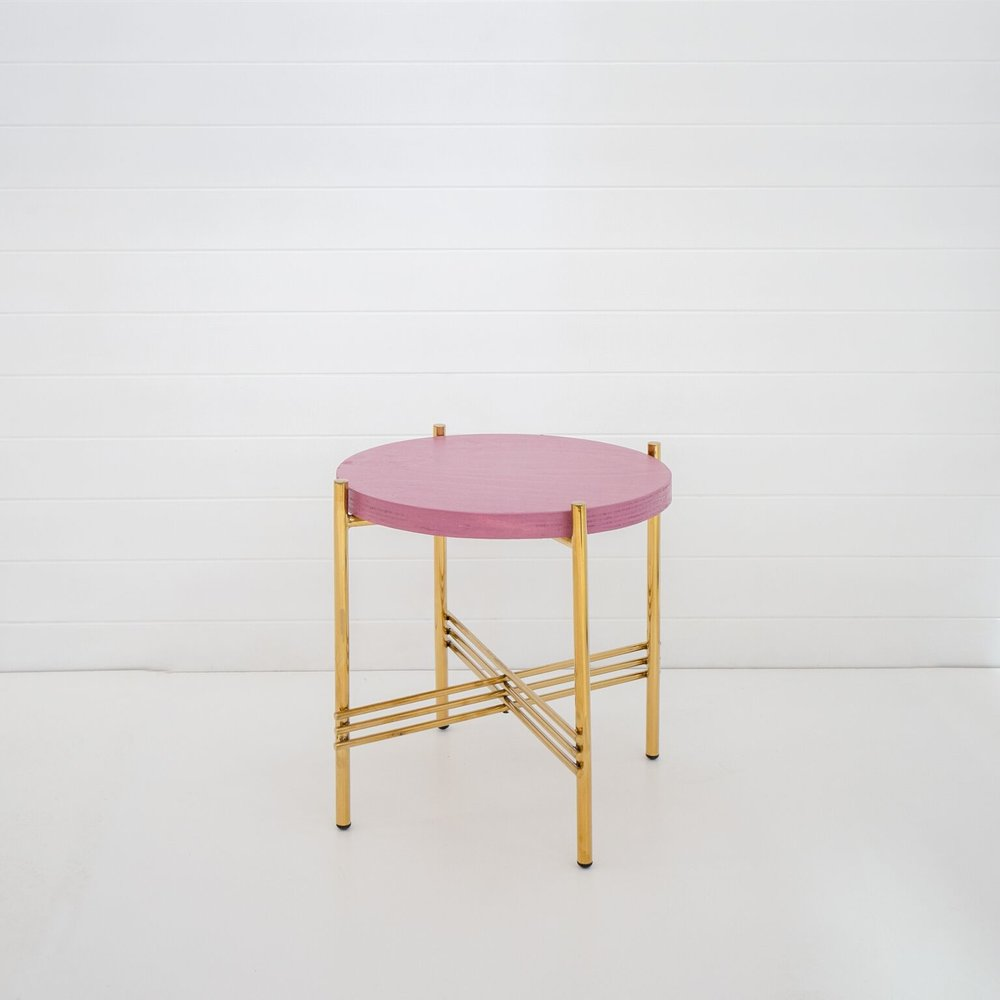 WILD GERANIUM ICELANDIC SIDE TABLE