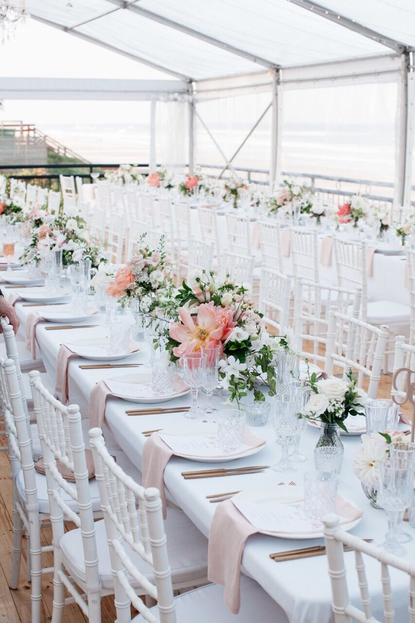 Blush linen napkins tableware hire Hampton Event Hire5.jpeg
