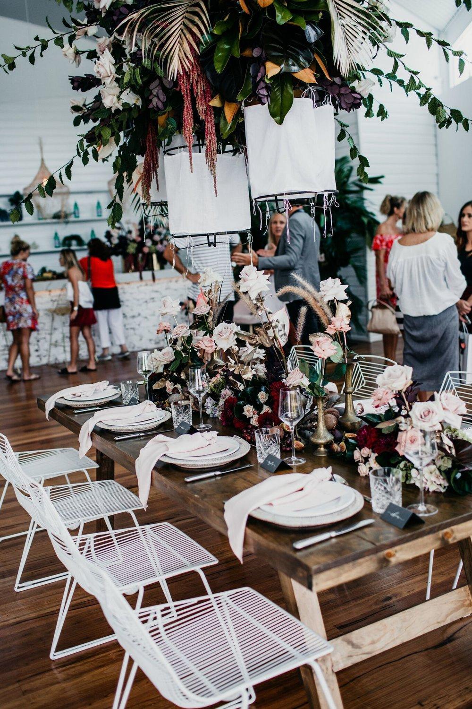 Blush linen napkins tableware hire Hampton Event Hire4.jpeg