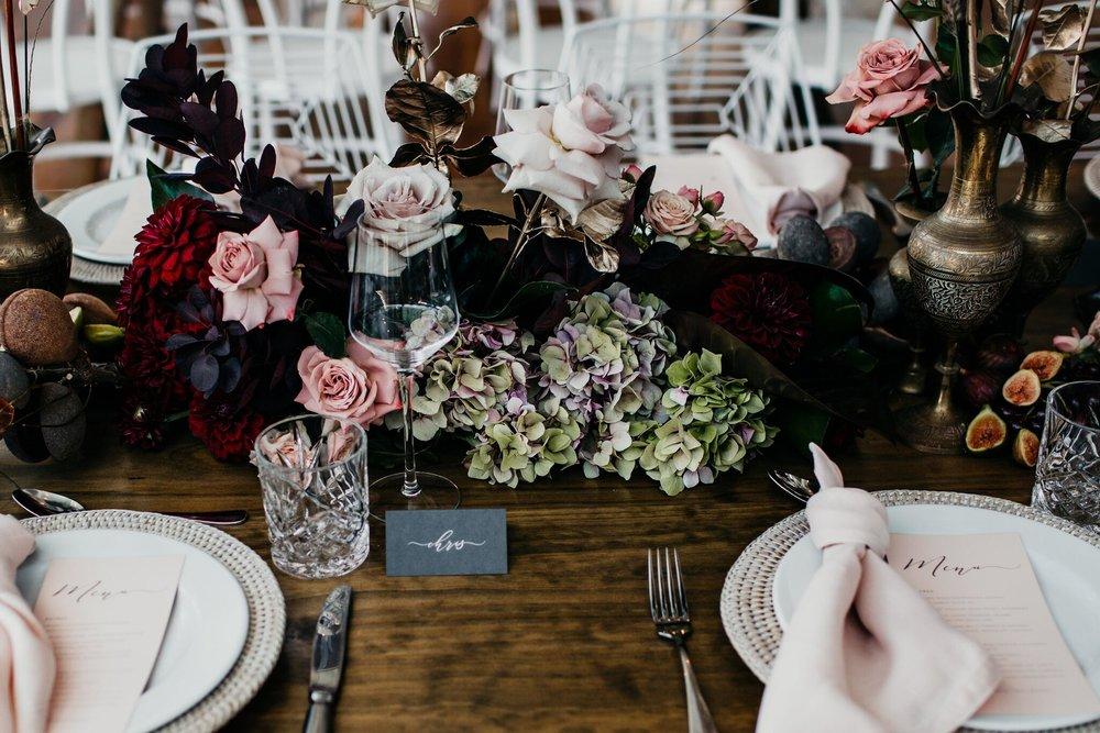 Blush linen napkins tableware hire Hampton Event Hire3.jpeg