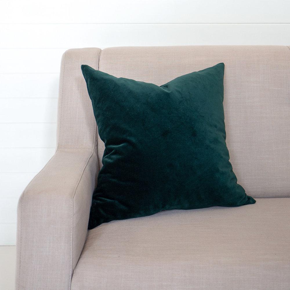Brunswick Green Cushion