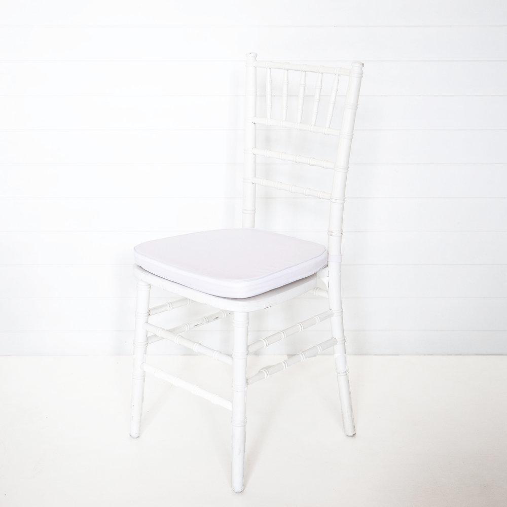 White Tiffany Chair Cushion