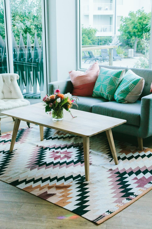 Mid century wooden coffee table.jpg