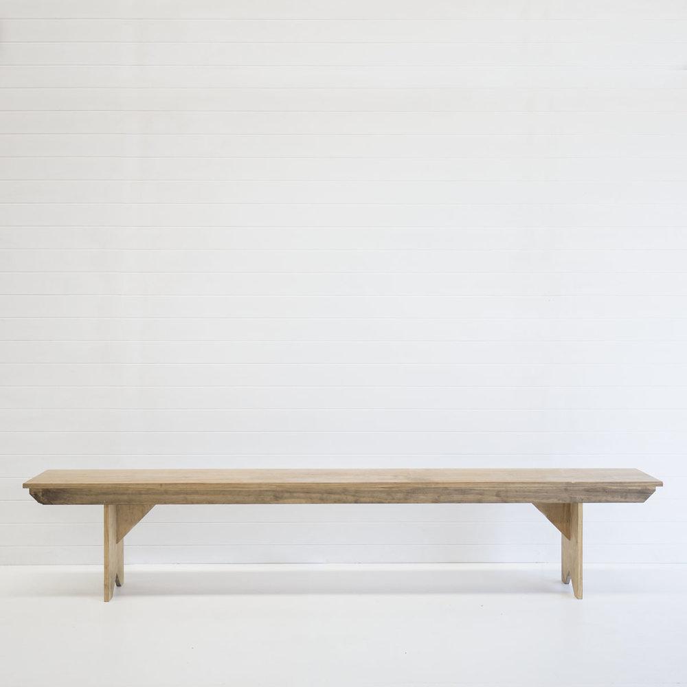Natural Bench Seat