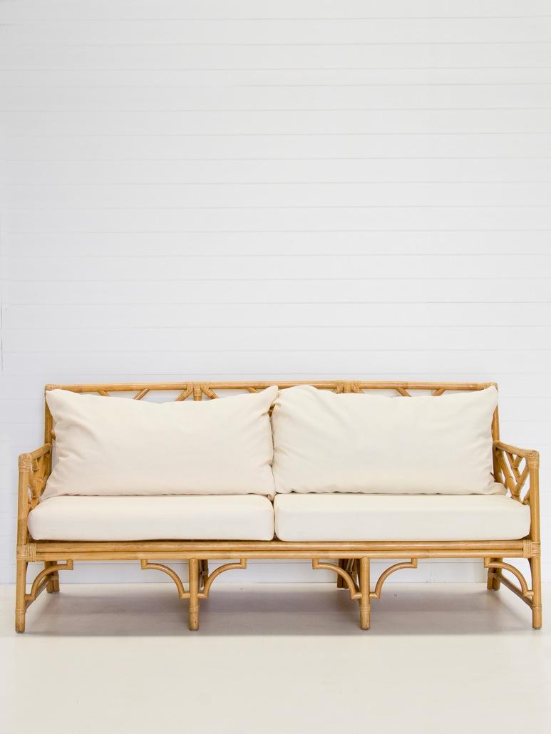 3 seater natural sofa