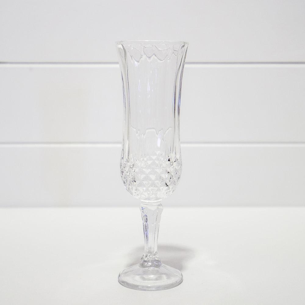 Decorative champaigne flute