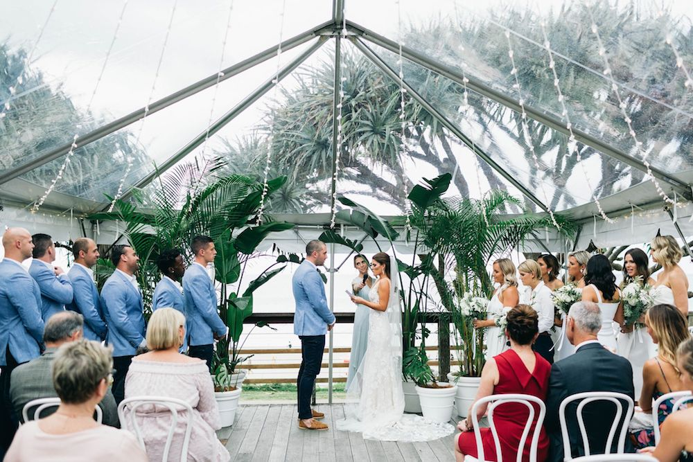 Real Wedding: Stephanie + Dane, Byron Bay Surf Club | Hampton Event Hire, Byron Bay Wedding Hire