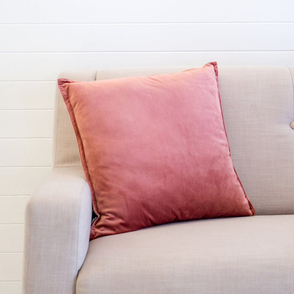 Mira Velvet Roses Cushion