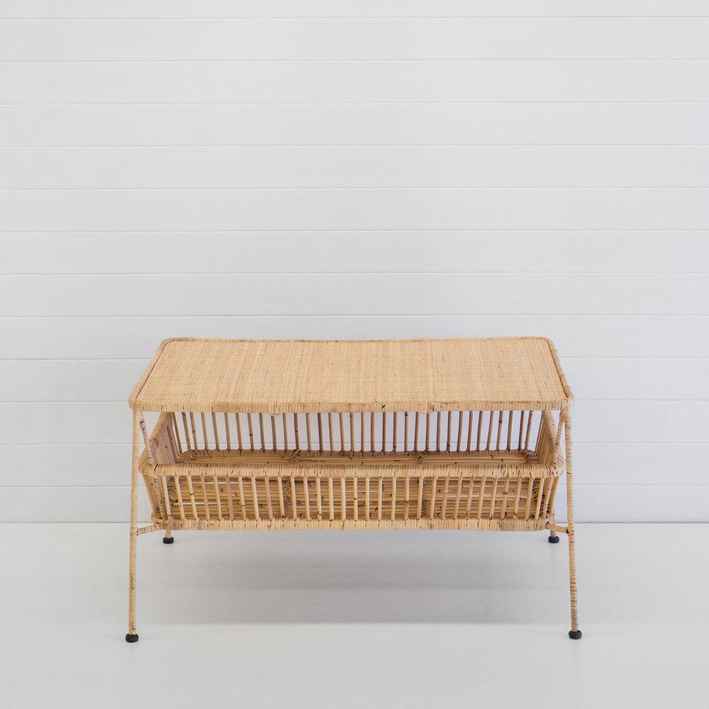 Indie natural coffee table