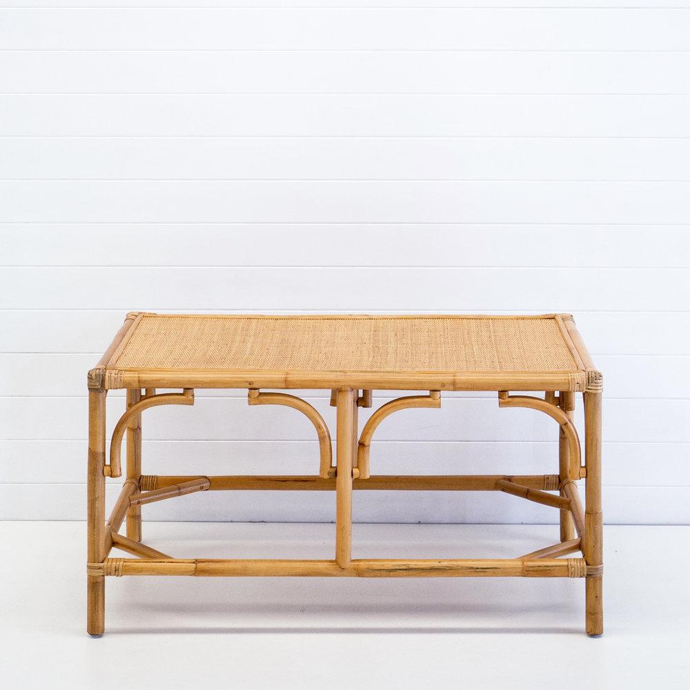 Hamptons natural coffee table