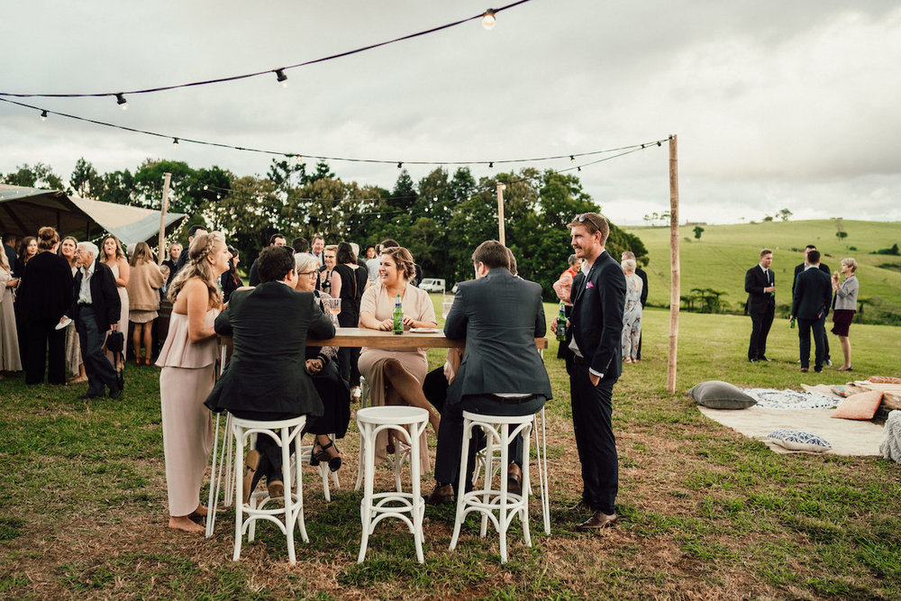 Real Sunshine Coast Wedding: Madeleine & Brett, Maleny Retreat Bohemian Tipi Wedding | Hampton Event Hire | Photography by Luke Middlemiss