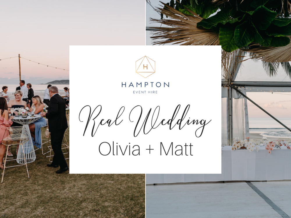 Real Wedding: Olivia and Matt, Elements of Byron | Hampton Event Hire, Byron Bay Wedding Hire - www.hamptoneventhire.com