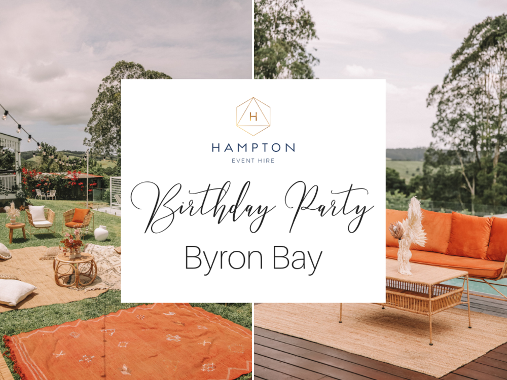 30th Birthday for Lisa Smith, Byron Bay | Hampton Event Hire, Event Hire on the Gold Coast, Brisbane and Byron Bay