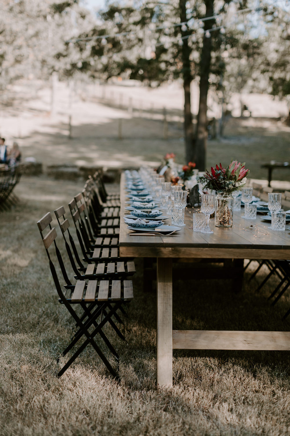 Real wedding michell richard country bohemian diy wedding styling at brisbane hampton