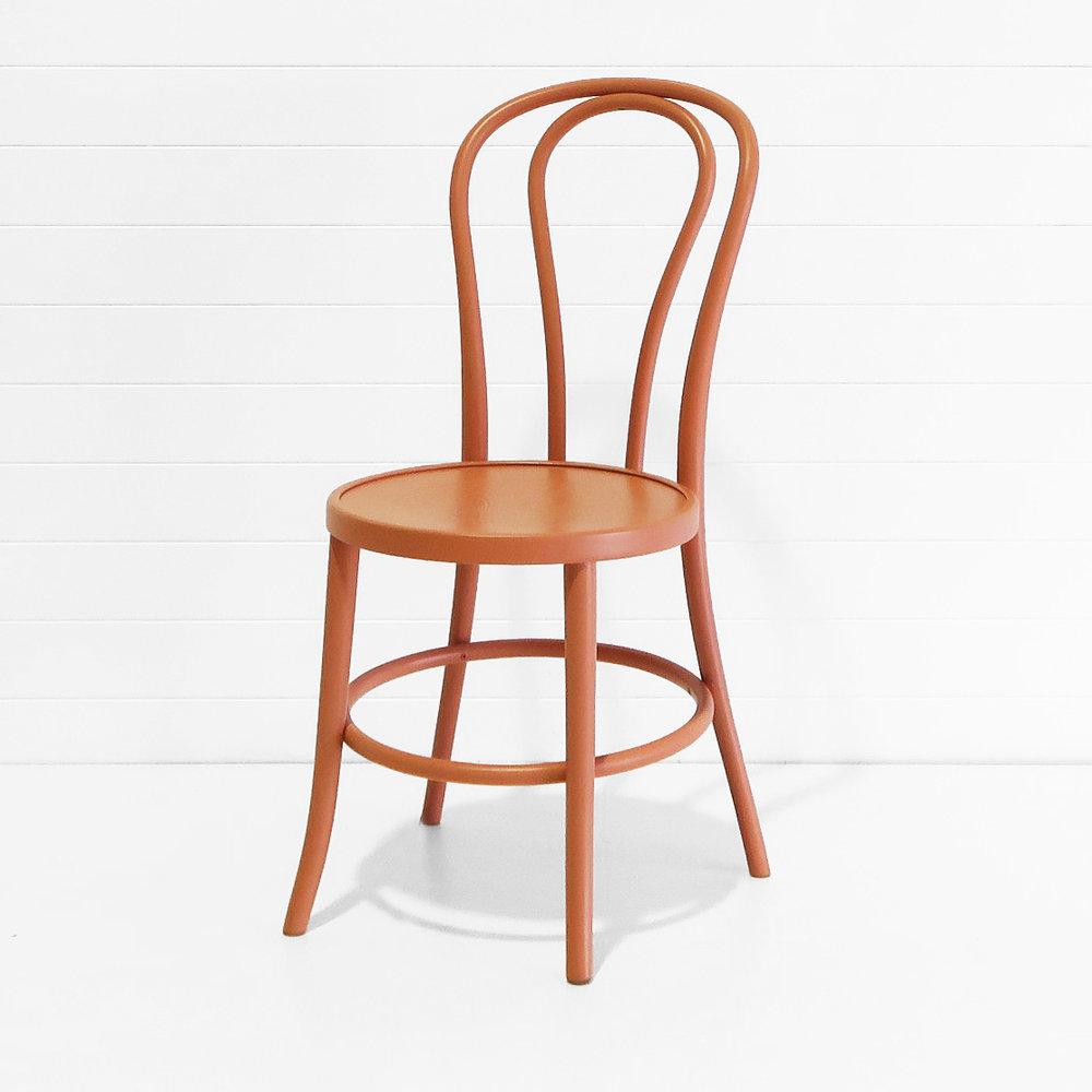 Bentwood Chair - Terracotta (angle).JPG