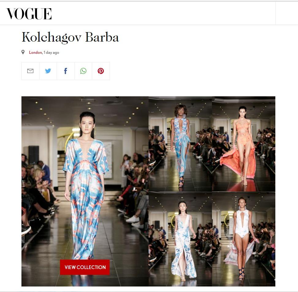 Vogue.co,uk Kolchagov Barba