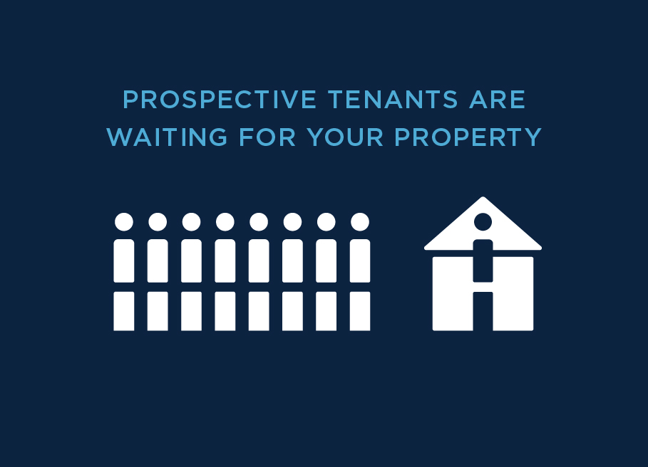 Landlords - Tenants are waiting for your property