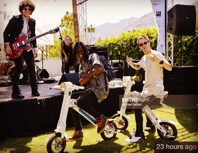 INTERVIEW MAGAZINE / Guns N'Roses Paradise House Coachella Party - pre show fun