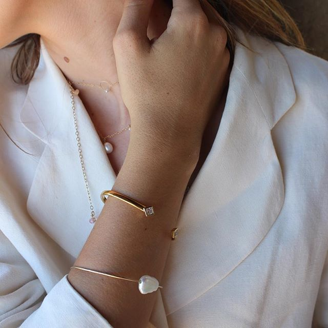 We love pearls... and diamonds!