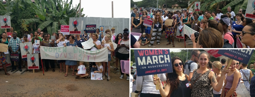 Sister March in Accra, Ghana
