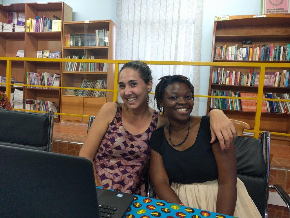 Working with Rhesa from AWDF