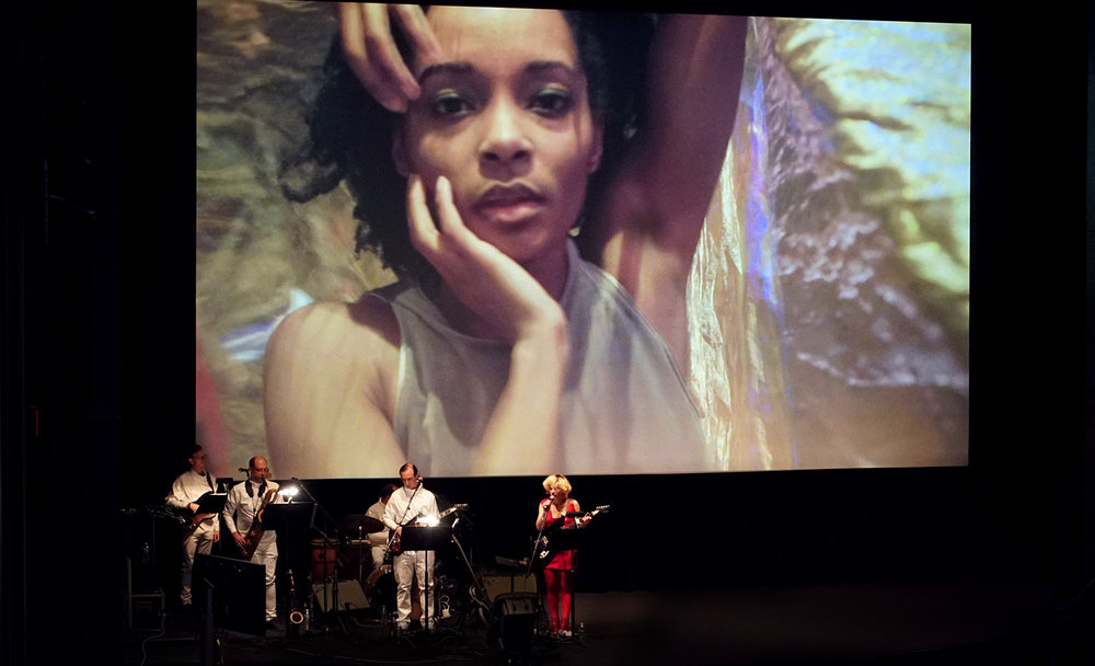 Film Society of Lincoln Center, 2017. Live band and screening for Dance Films Association.