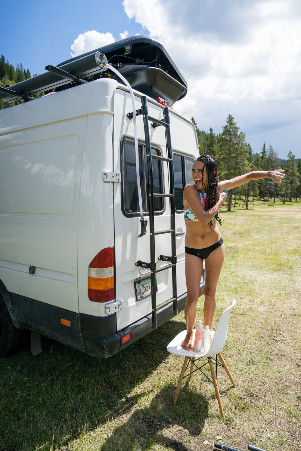 6 Ways To Shower When You Live In A Van Our Home On Wheels