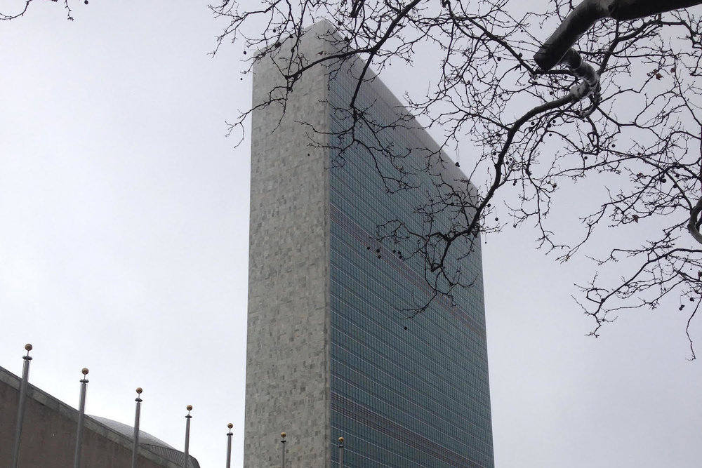 United Nations building, New York City, United States