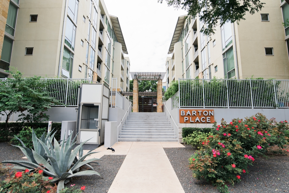 The beautifully located Barton Place right by Zilker Park