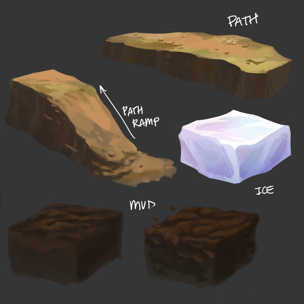 Path and Effect Tile Concepts