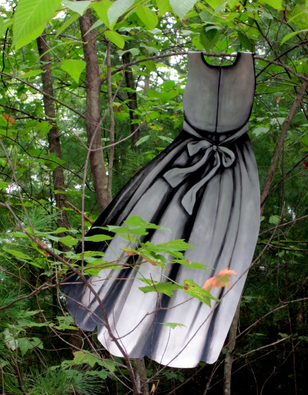 Painted Metal Dresses