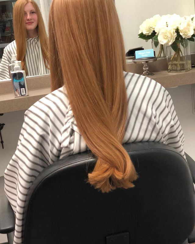 Such beautiful hair on this beauty!! #margoshairstudio#solalongisland#longhair#haircut#studiolife