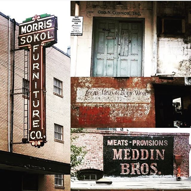 Friday signs! Good reminder to look up and forward in life or you might miss something extraordinary! #historiccharleston #chs #chslife #history #signs #southernliving #nyc #urbanexploration #onelife #tgif #hustle #hardcharger