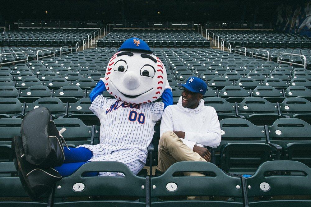 Nigel Sylvester for New Era x Mets