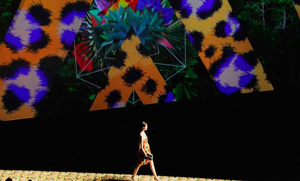 Kenzo SS13 Paris Fashion Week Show