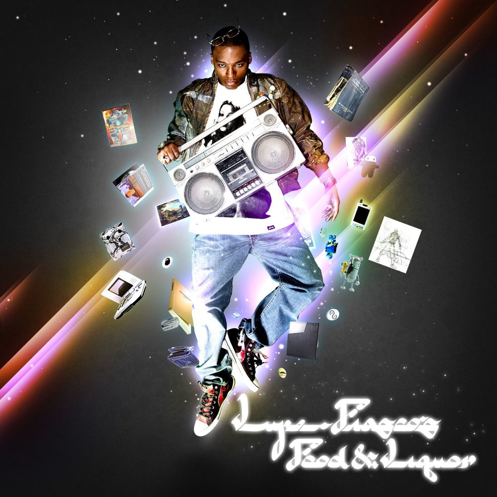 Lupe Fiasco's 'Food & Liquor' Album Art
