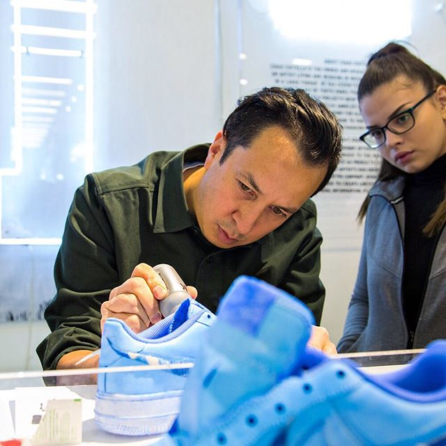 Craig Costello brings his KRINK brand to collaborate with Nike Soho on their 'Make Your Mark' customization experience. Customers were able to customize their own pair of AF-1 using KRINK paints and markers. #icnclstprojects #icnclst @krinknyc @nikenyc