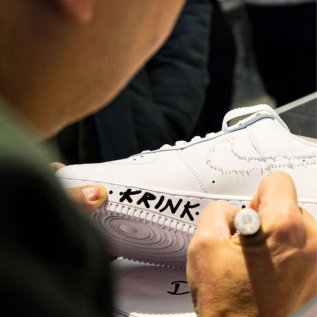 The KRINK and Nike Soho customization experience keeps up with the brands history of creating limited edition, one-of-a-kind products. #icnclstprojects #icnclst @krinknyc @nikenyc